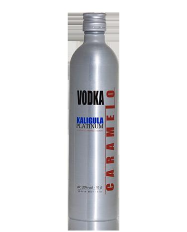 Vodka caramelo Kaligula Platinum