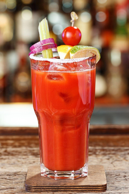 Bloody Mary preparado con tequila blanco 38 destilerías Espronceda