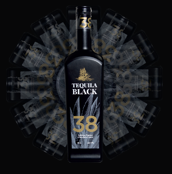 Tequila black 38 destilerias espronceda